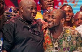 Davido And Dele Momodu Resolved Their Beef At The Ovation Carol (Photos)